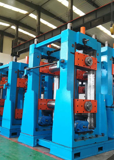 China's First Straight Seam Welding API Pipe Production Line with Max OD 720mm
