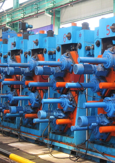 China's First Directly Square to Square Straight Welded Pipe Production Line