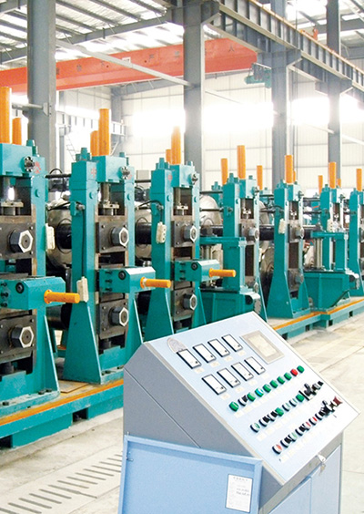 China's First API Pipe Production Line for High Grade Steel