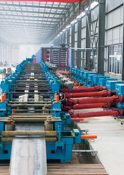China's First Multi-functional Welded Pipe Production Line