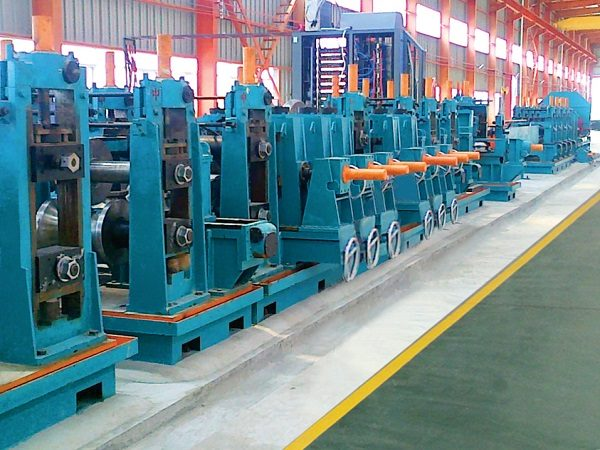 ERW273 H.F. Straight Welded Pipe Production Line