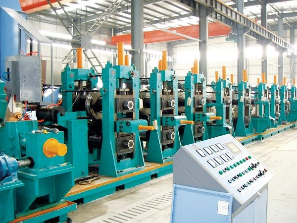 ERW377 H.F. Straight Welded Pipe Production Line