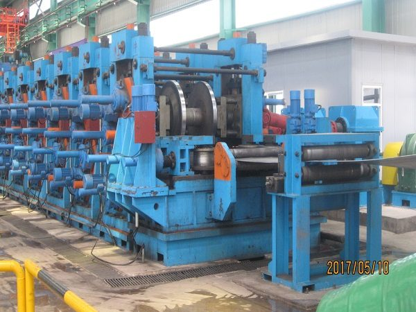 ERW508 H.F. Straight Welded Pipe Production Line
