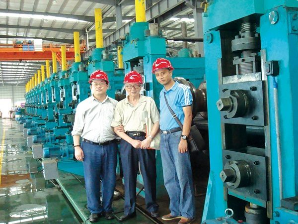 ERW660 H.F. Straight Welded Pipe Production Line