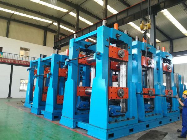 ERW720 H.F. Straight Welded Pipe Production Line